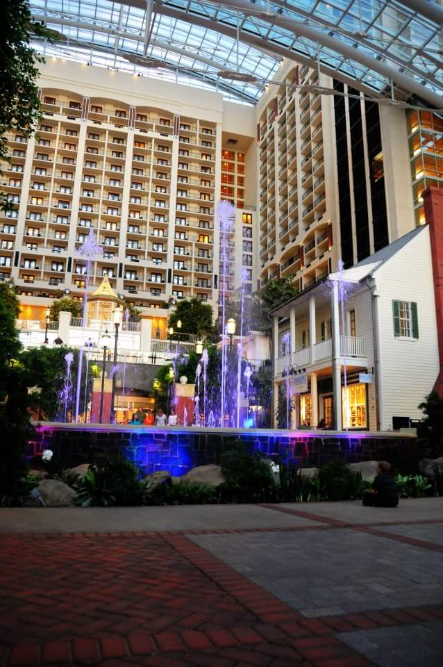 inside the Gaylord Hotel