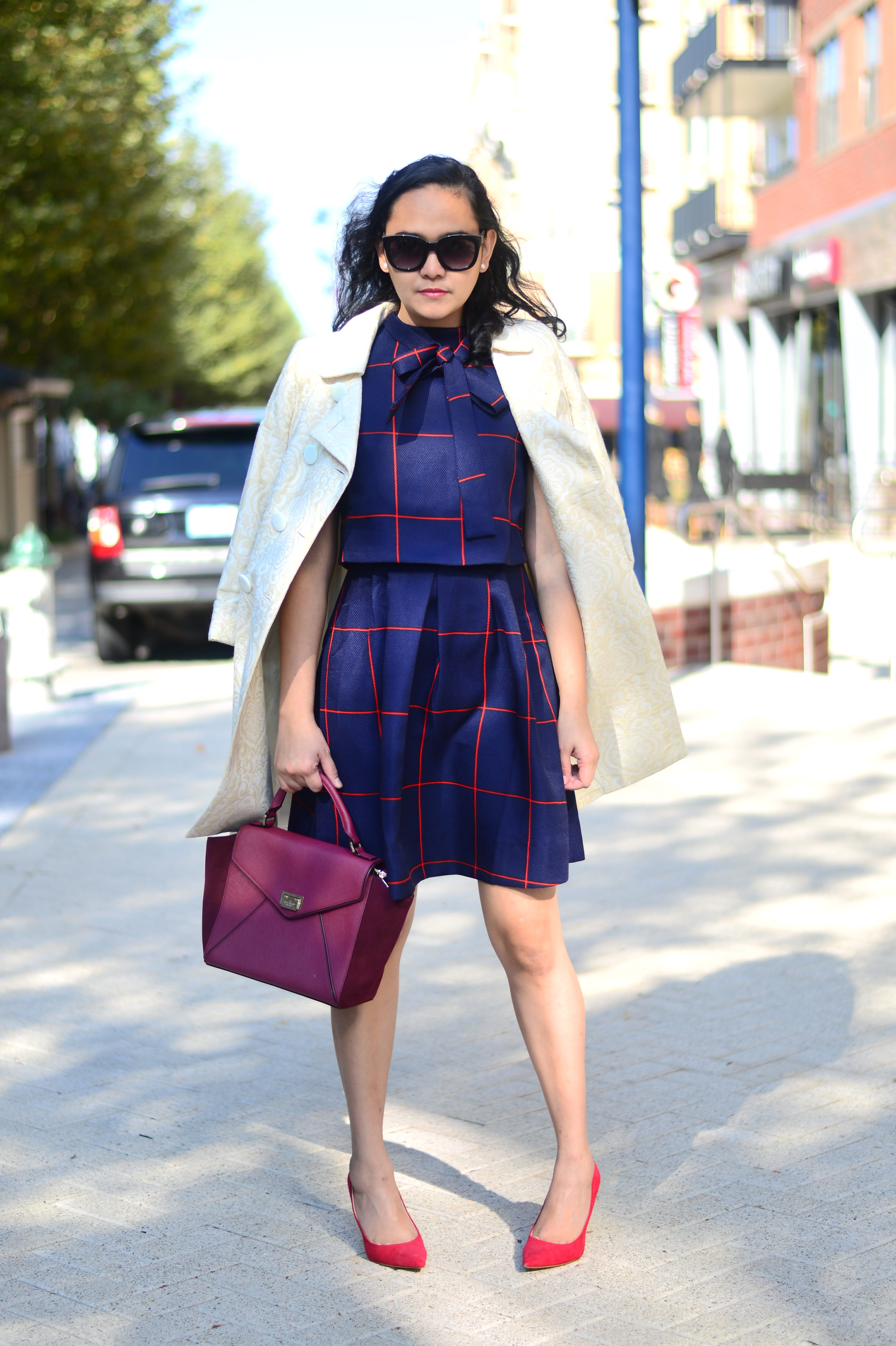 Classy Patterns and Statement Coat