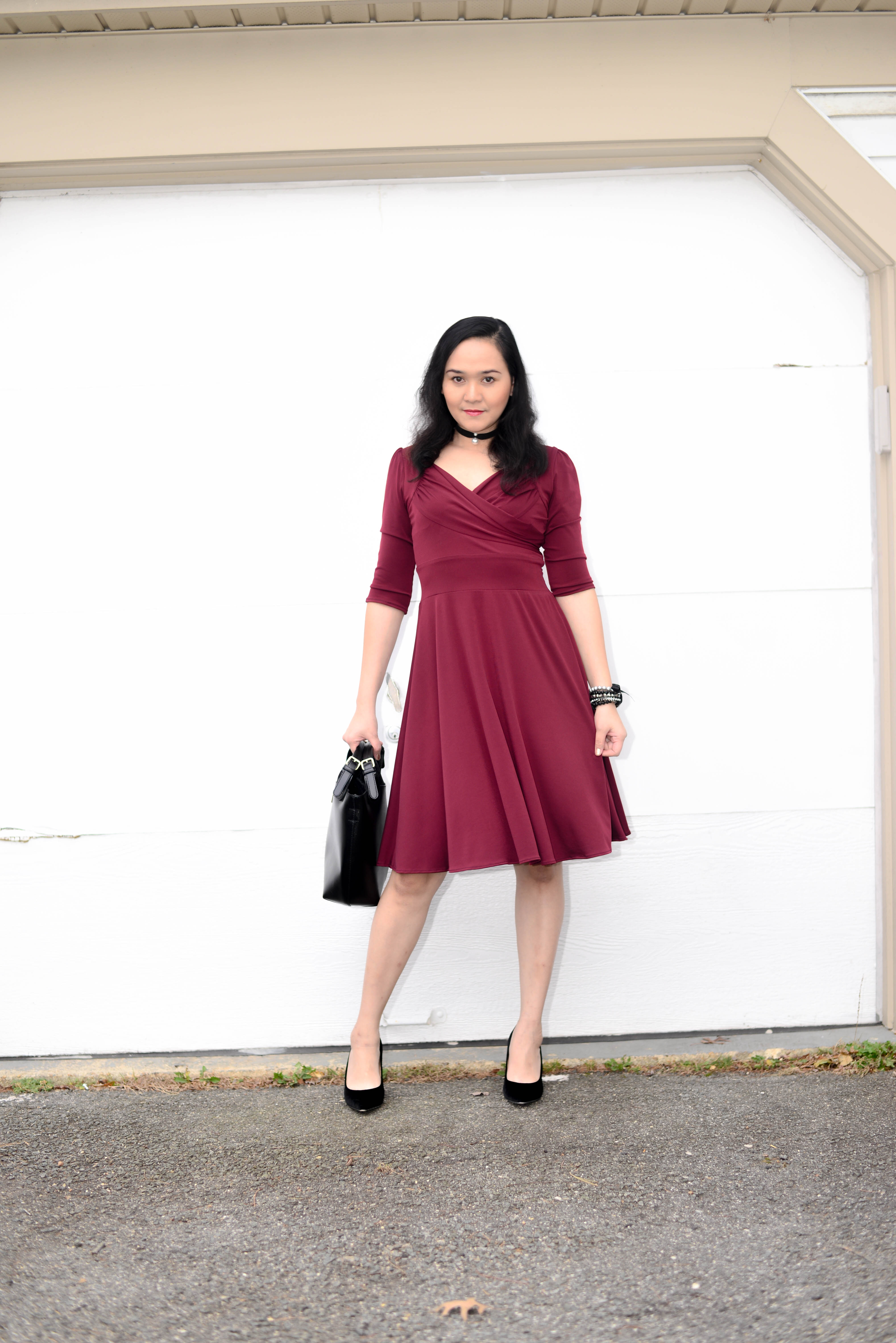 Classic Holiday Red Dress