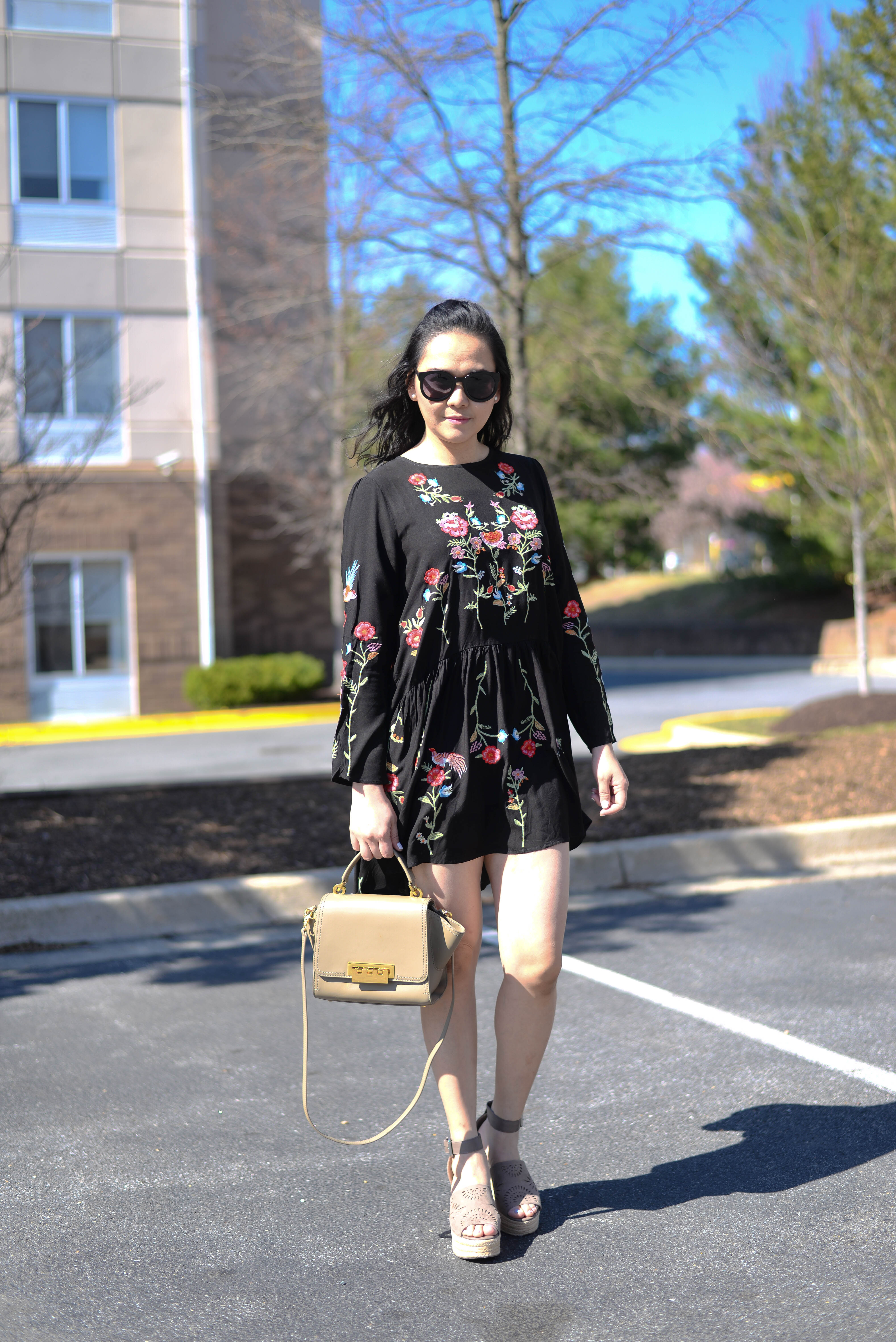 Spring Forward with my Floral Embroidered Dress