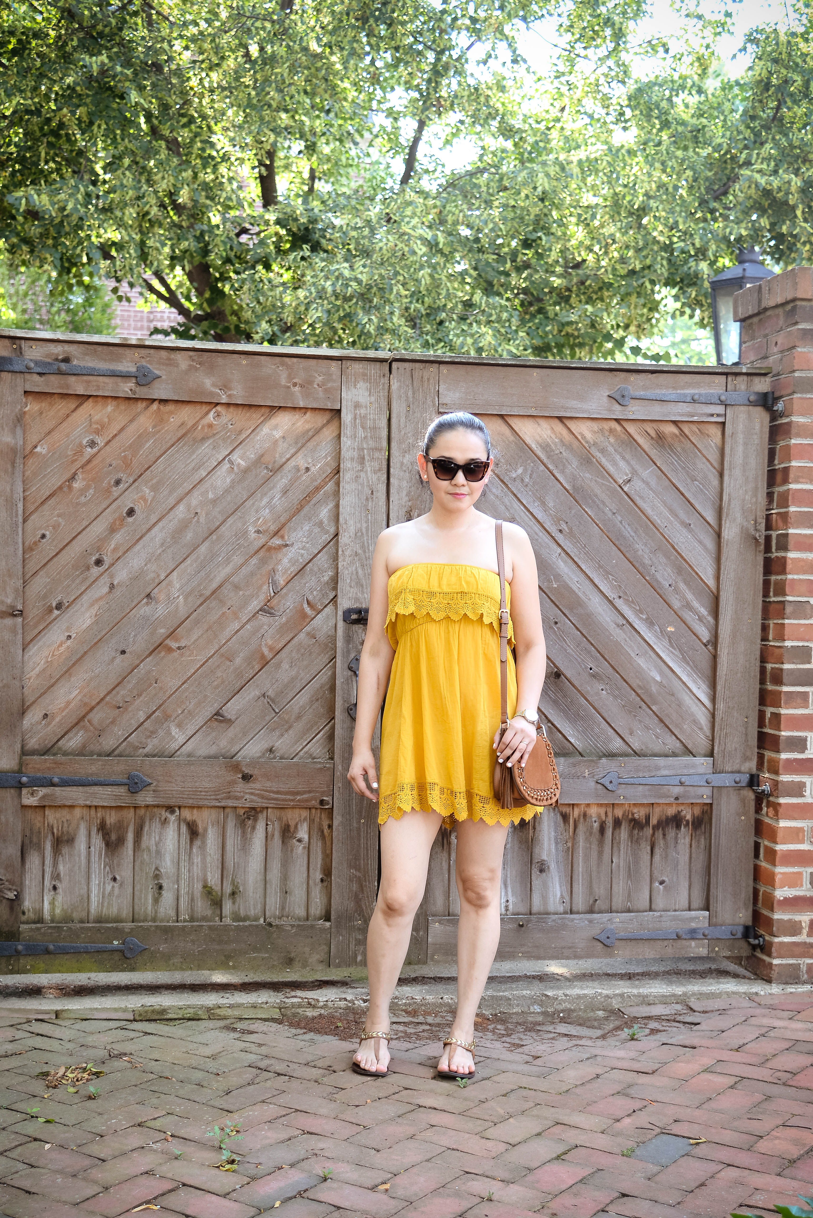 My Mustard Yellow Dress