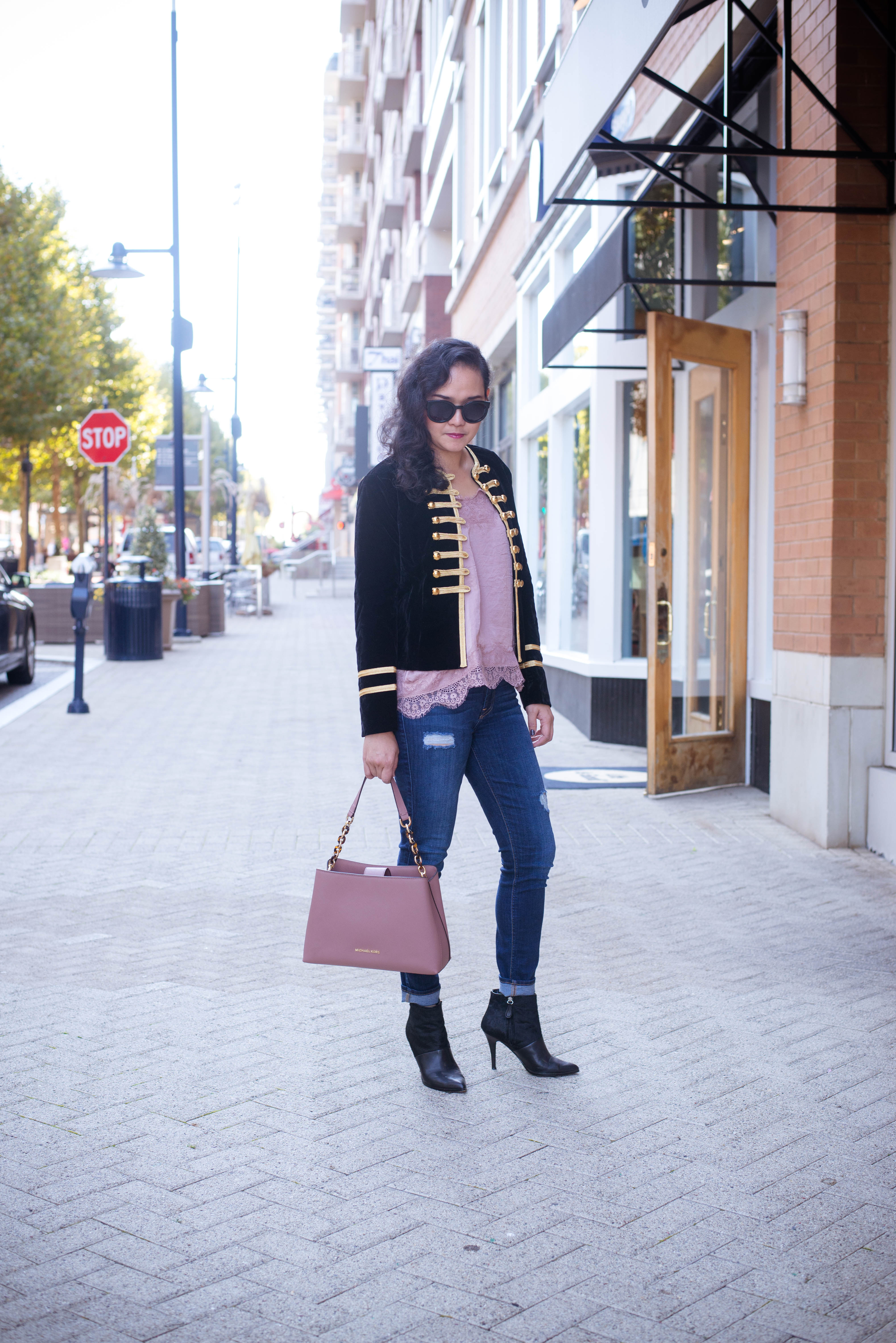 Monday Style: In Military Jacket