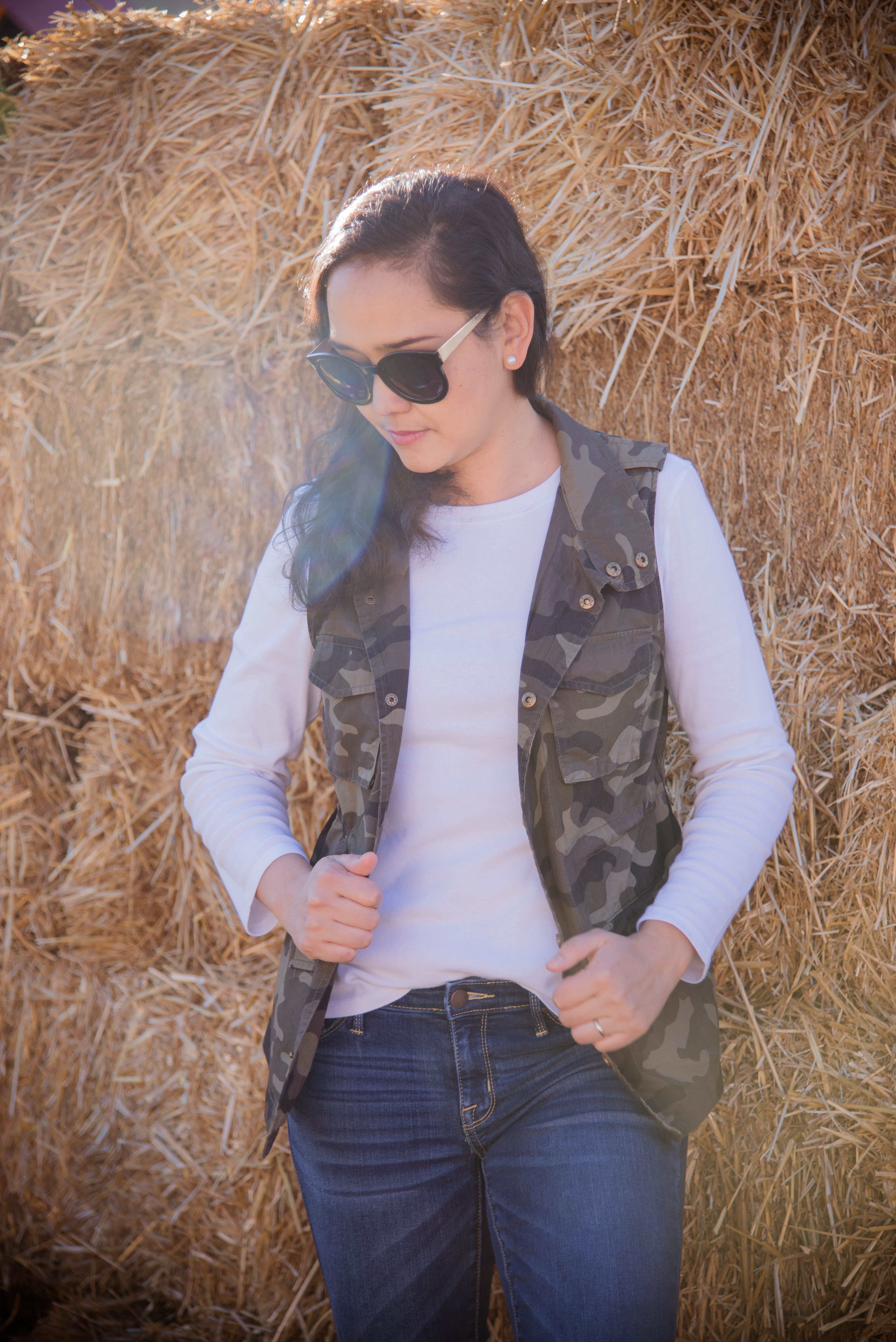 Fall Style: Camouflage Vest