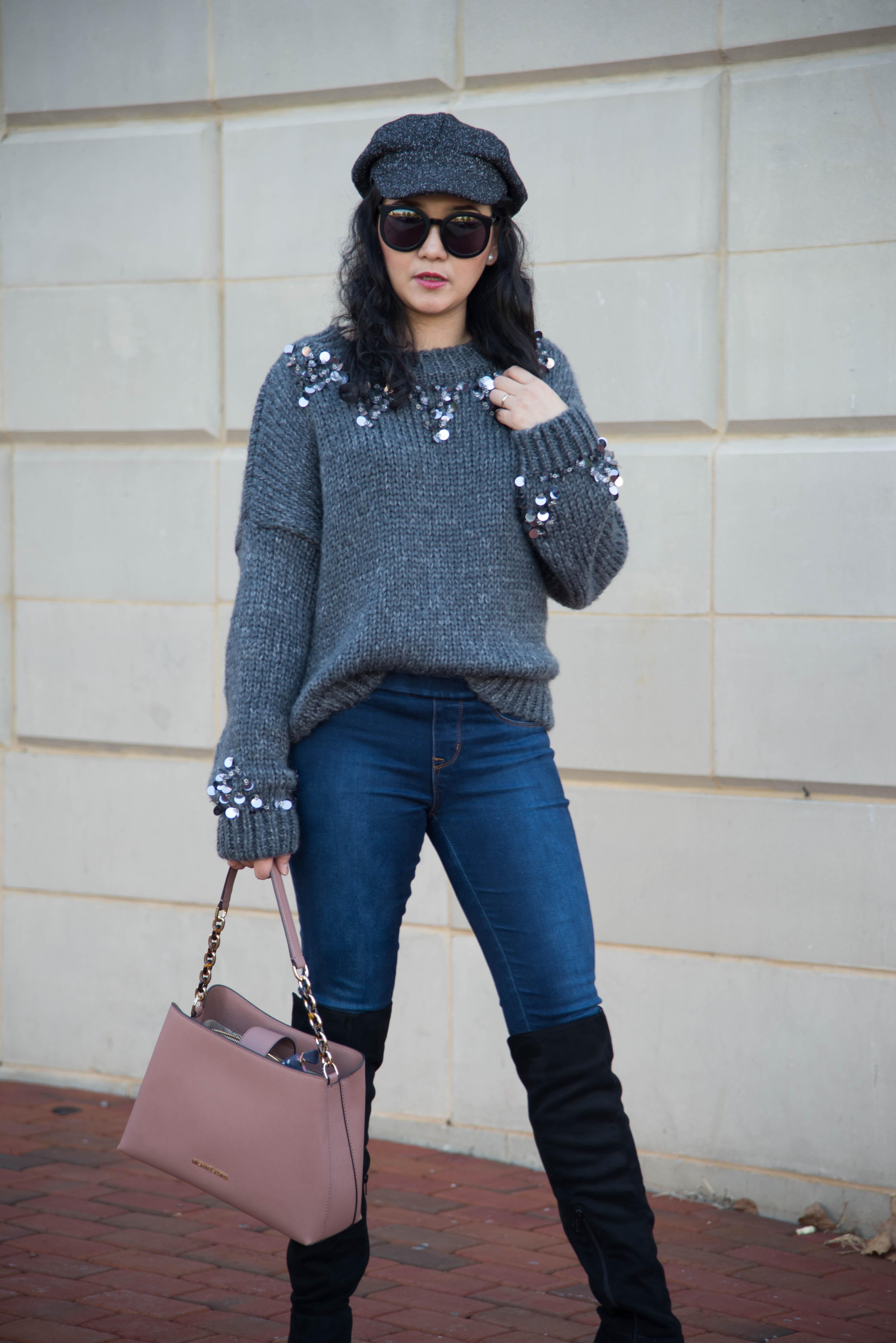 I Sparkle with my Sweater on Mondays