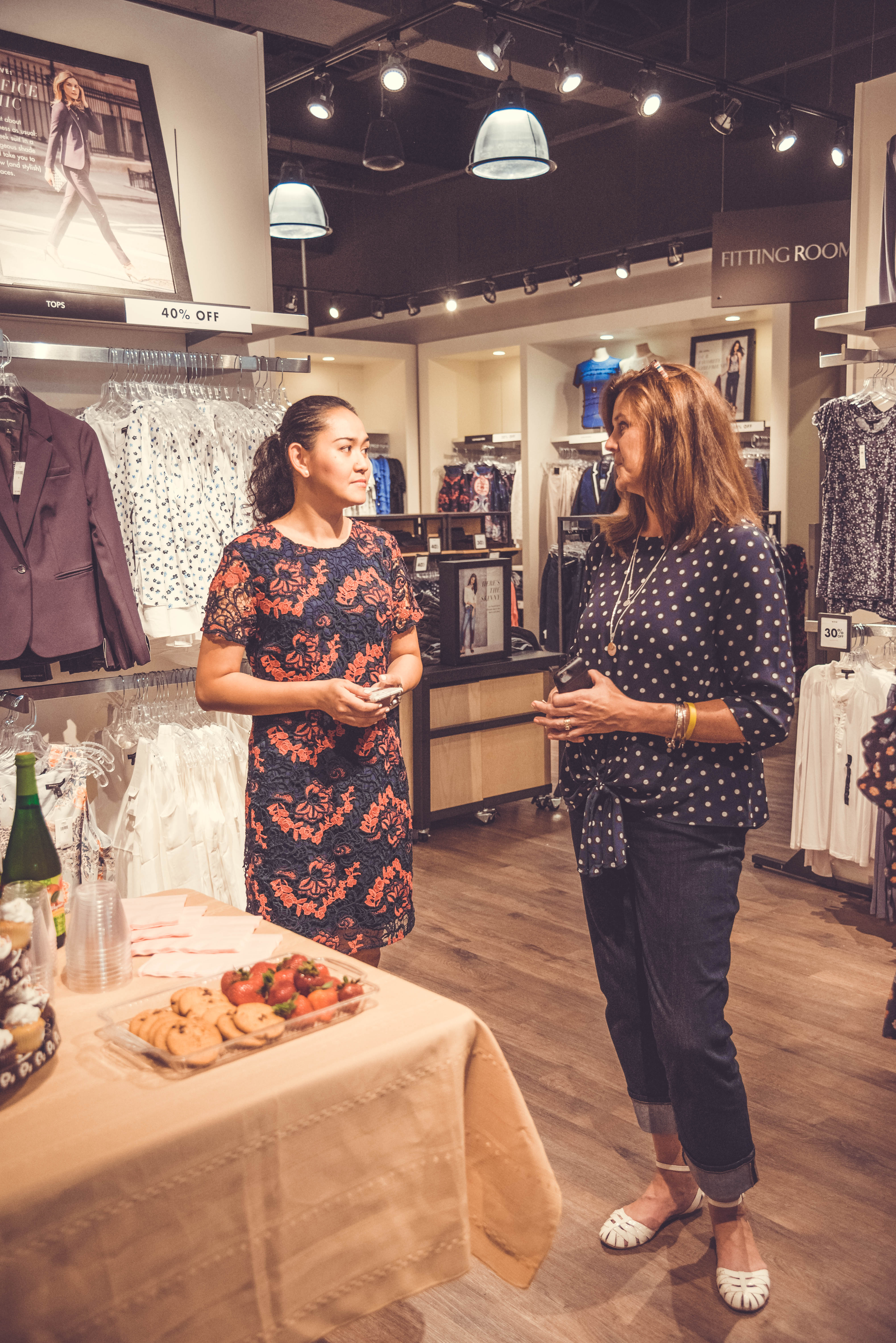 Brand Influencer Event for Banana Republic Factory Experience