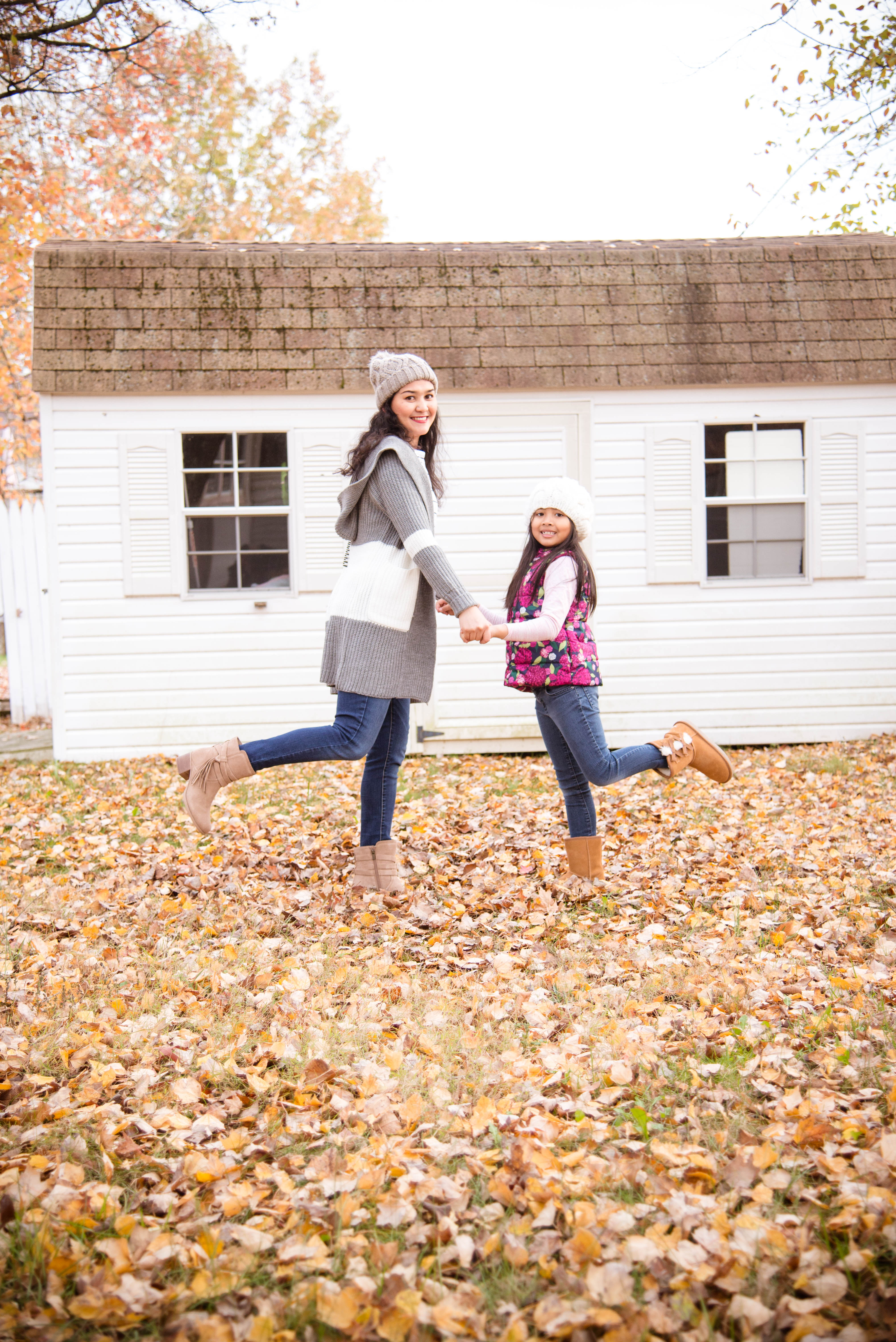 Mother and Daughter Fall Adventures