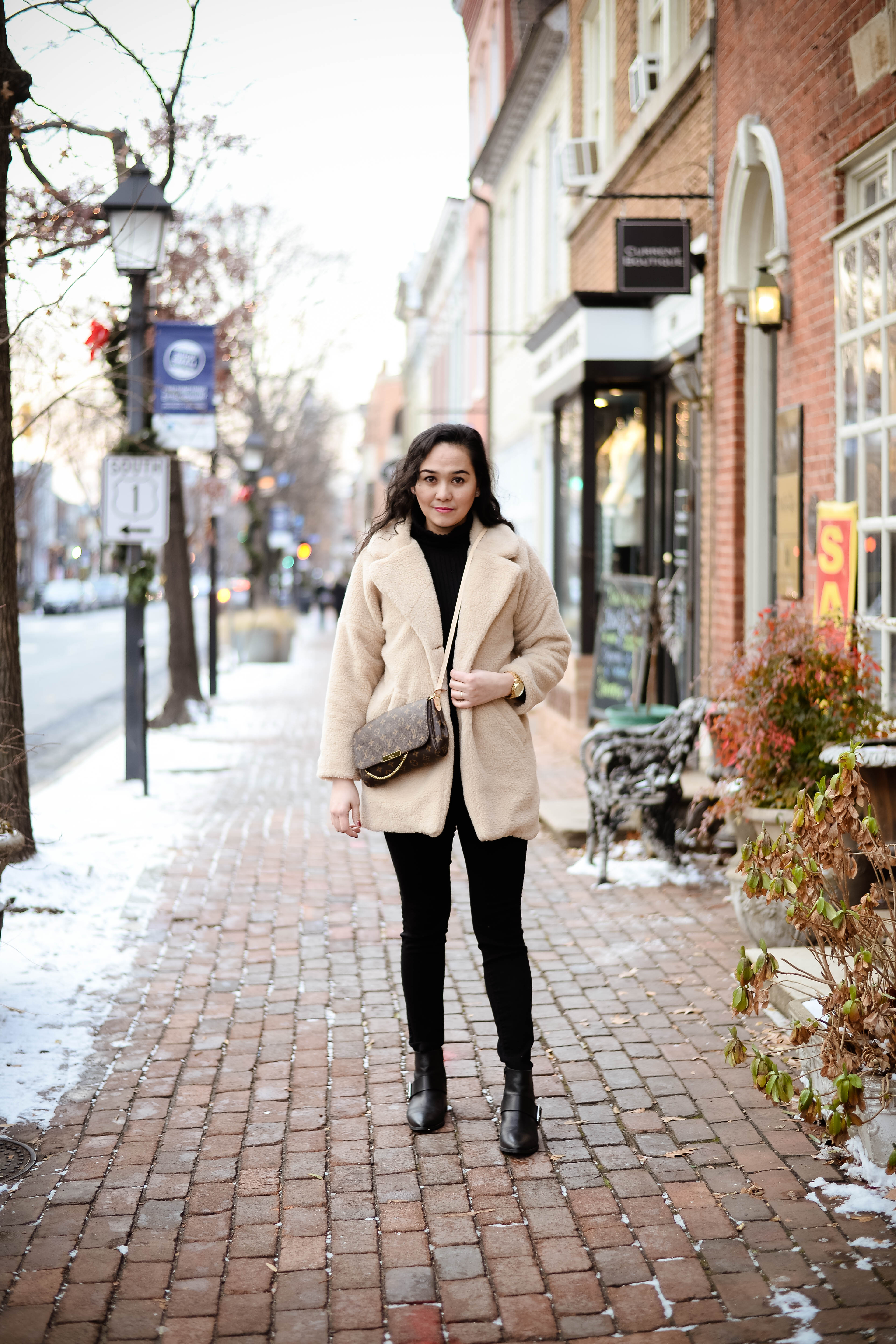 Cozy Feels with Teddy Coat Trend