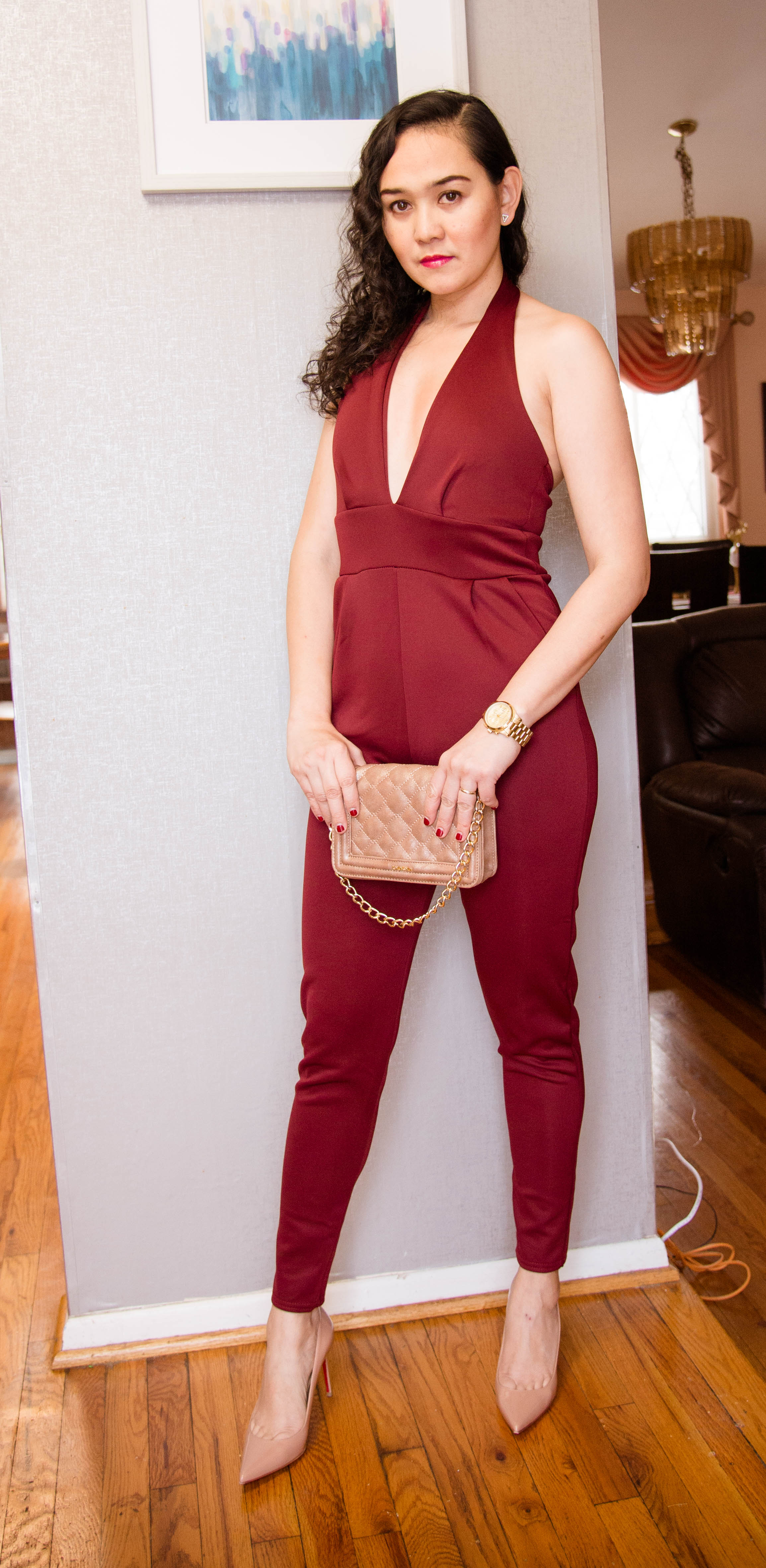 Jumpsuit for Valentine's Date