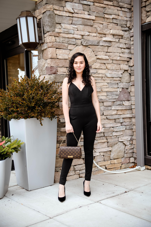 7d351718e71 NYE Outfit Number 1  Tobi Black Jumpsuit - SimplyChristianne